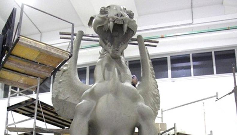 """скульптура """"Хранительница"""" установлена в Гайд-Парке"""