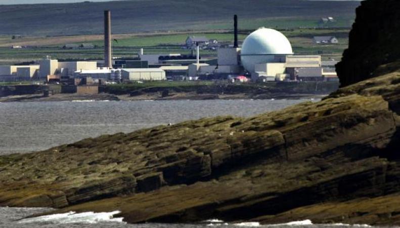 ядерный завод в Шотландии