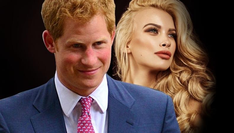 Принц Гарри влюбился в модель российского происхождения Анастасию Гусеву
