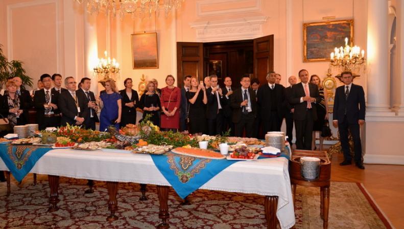 В российском Посольстве в Лондоне состоялся прием, посвященный Ассамблее Международной морской организации