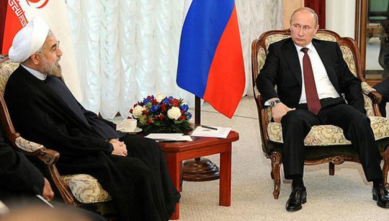 Владимир Путин и представитель Ирана