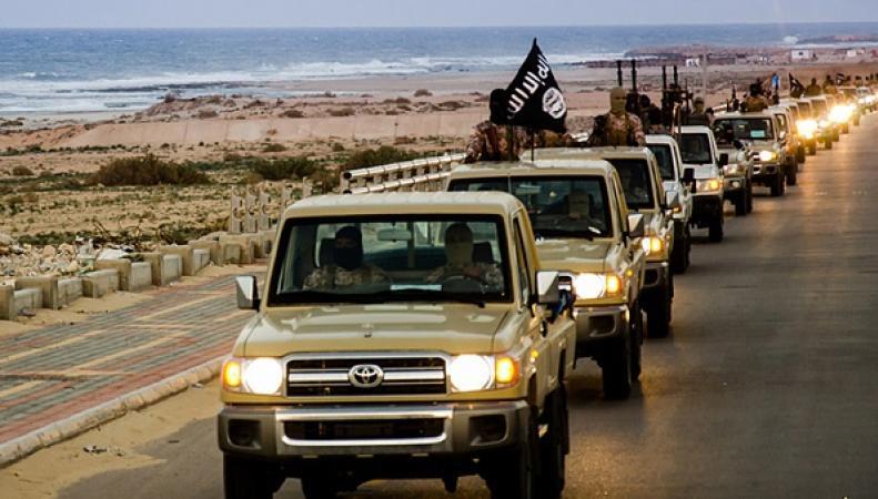 Военная операция против террористов в Ливии