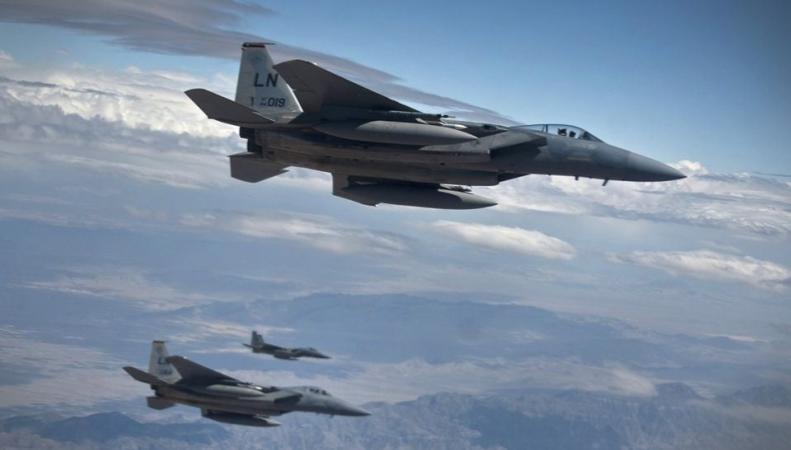 Британские истребители поднялись в воздух из-за близости россисйских истребителей