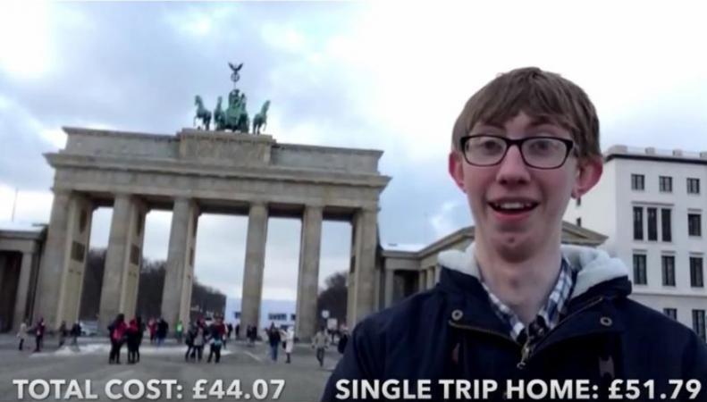 Джордан Кокс, 18-летний британец, автор видеоблога о том как сэкономить