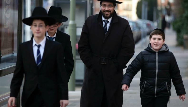 Лондонские ортодоксальные евреи