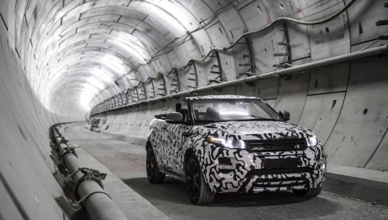 Кабриолет Evoque Range Rover