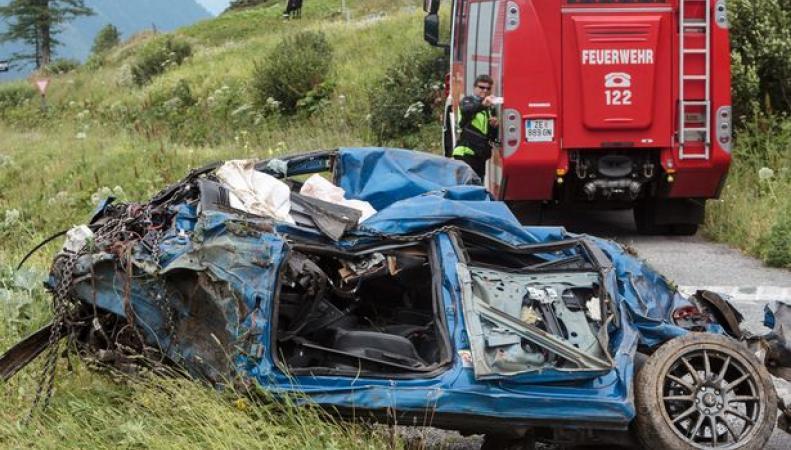 авария в Австрии