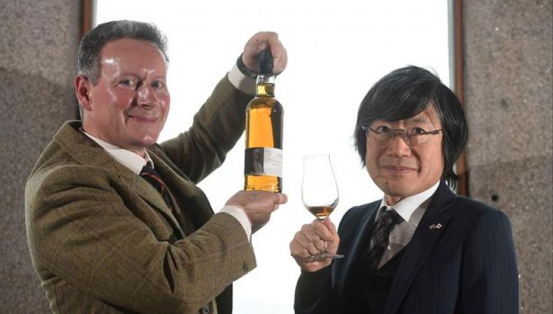 The Glover - японо-шотландский виски