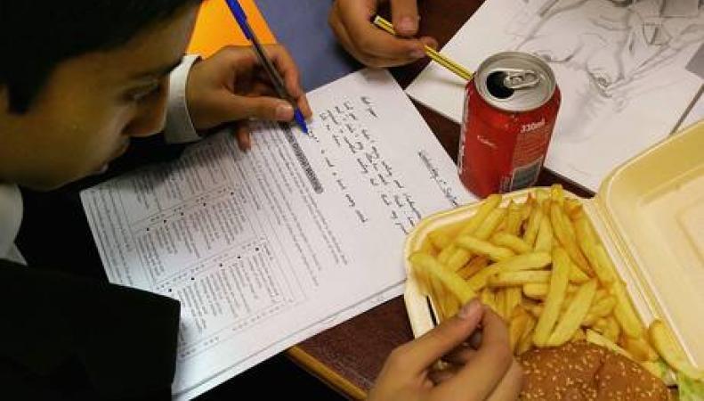 питание в британских школах
