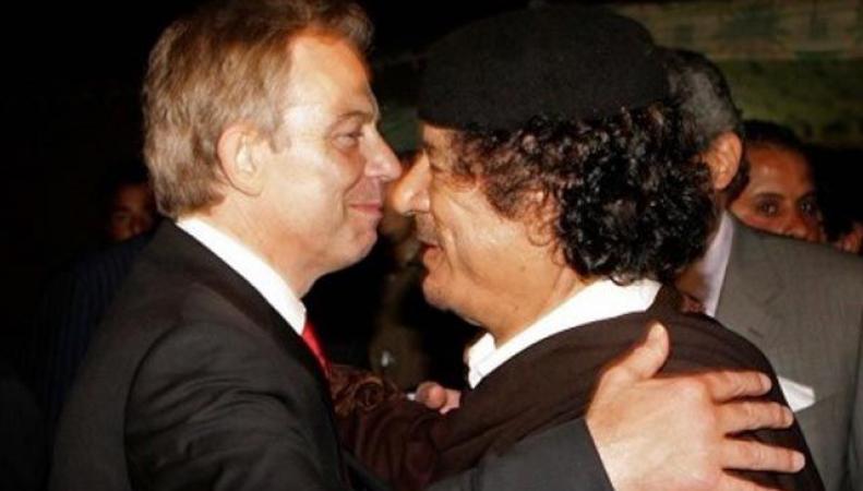Тони Блэр пытался защитить от унижений Каддафи