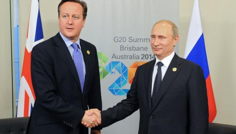 Кэмерон и Путин признали важность совместной работы по Сирии