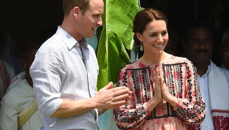 Уильям и Кейт в Индии