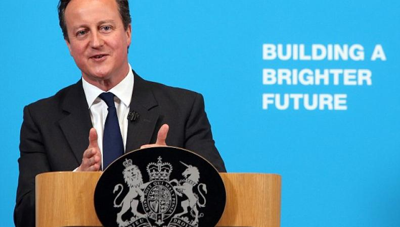 Премьер-министр Британии Дэвид  Кэмерон