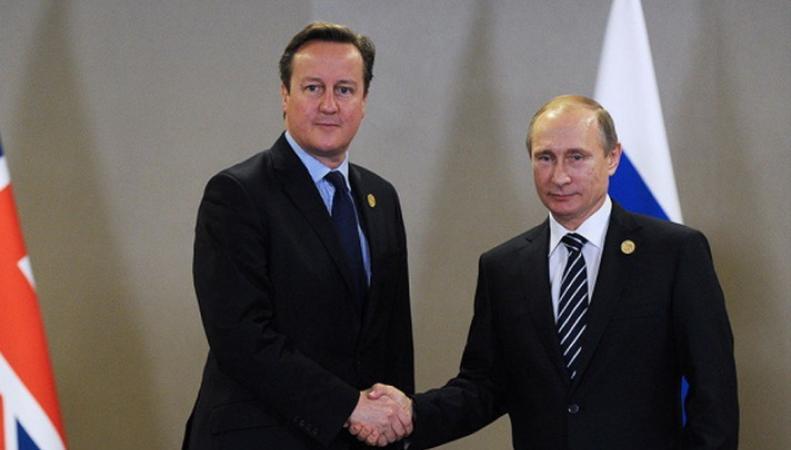 Кэмерон и Путин заявили о необходимости бороться с терроризмом сообща