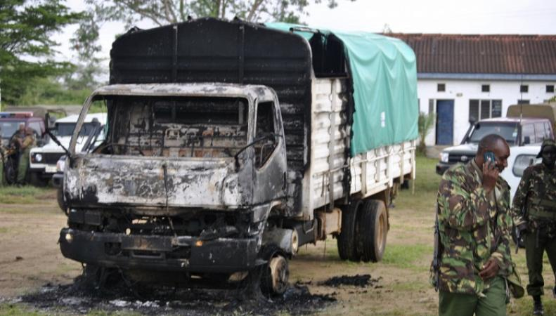 Последствия взрыва в Кении