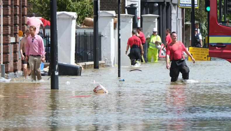 потоп в Кеннингтоне, Лондон