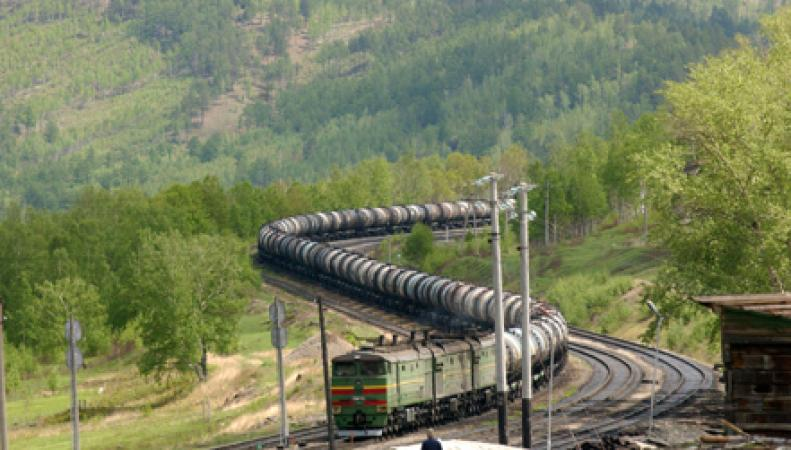 Поезд в Китае