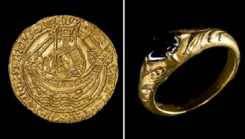 Пенсионер из Уэльса нашел клад XV века