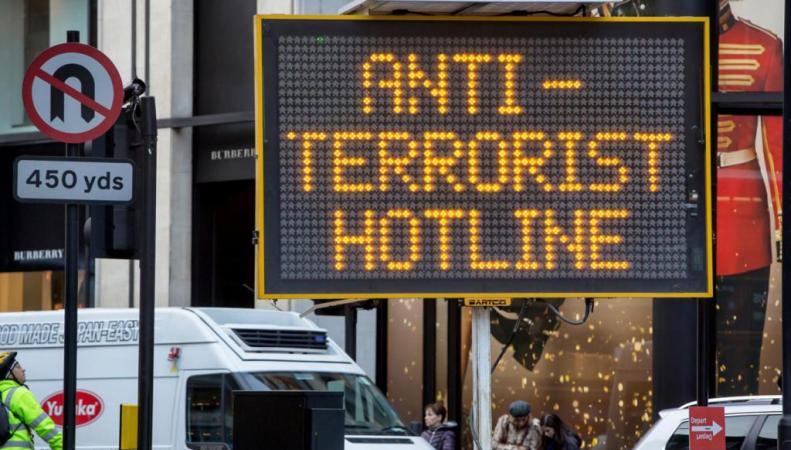 террористическая угроза в Лондоне