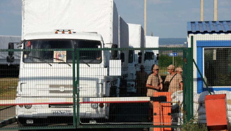 Гуманитарный конвой, следующий из РФ в Донбасс, прибыл в Ростовскую область, http://files.vm.ru