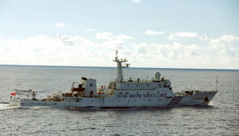 Корабль в Японском море