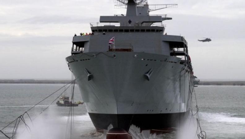 Британский боевой корабль будет участвовать в учениях НАТО