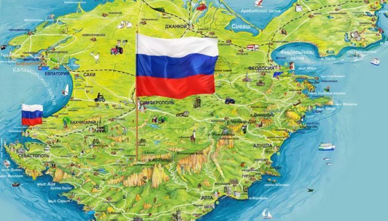 Треть украинцев считает Крым и Донбасс российскими