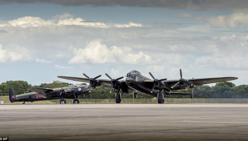 бомбардировщик Lancaster
