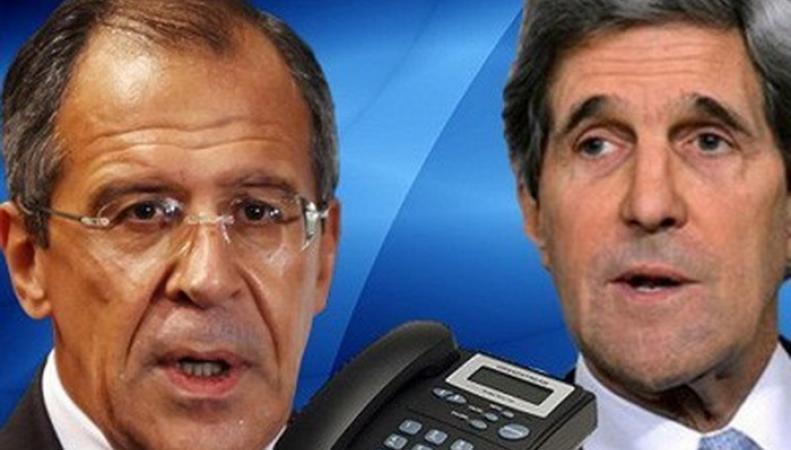 Лавров и Керри обсудили по телефону переговоры по Сирии