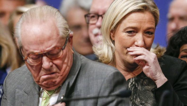 Дочь против отца: Марин Ле Пен исключила Жана-Мари из «Национального фронта»