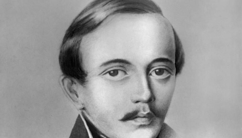 Русский поэт Михаил Лермонтов