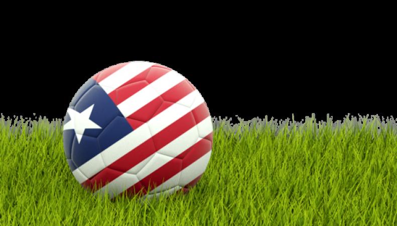 Мяч с символикой Либерии