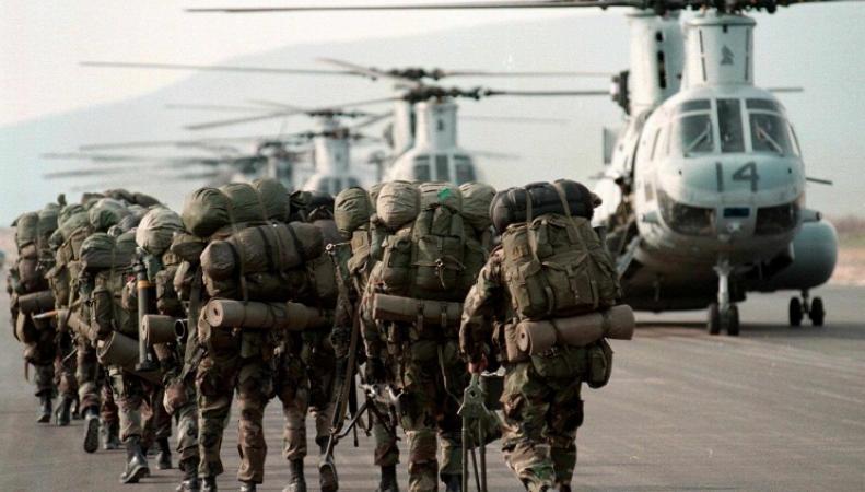 Американские солдаты в Литве