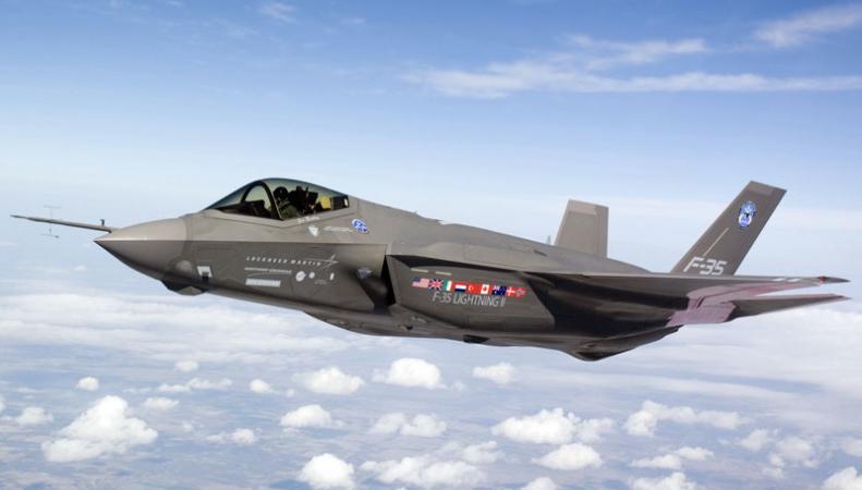 Истребитель-бомбардировщиков F-35 снят с полетов