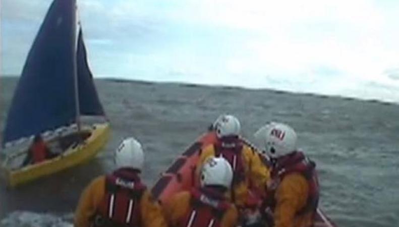 Береговая охрана, спасательная операция