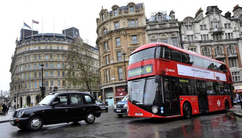 Автомобильное движение в Лондоне