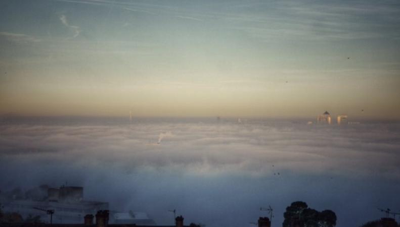 Лондон в тумане