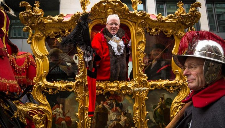 парад лорд-мэра Сити