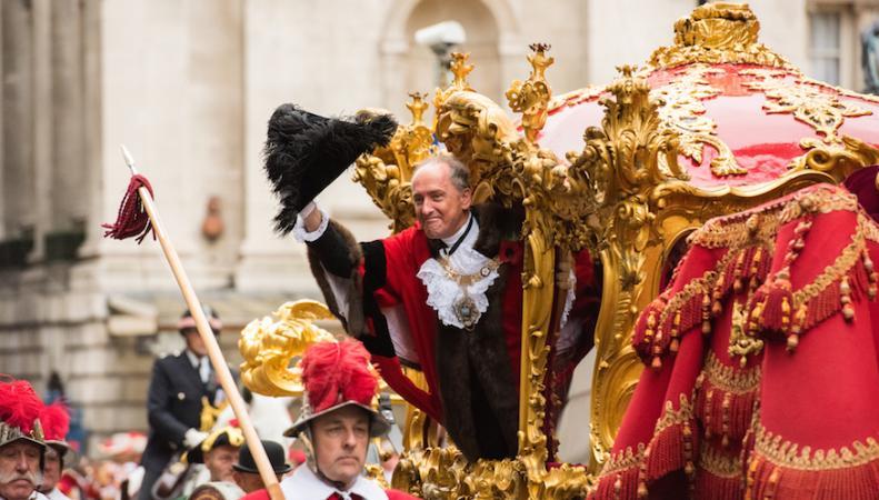 парад лорд-мэра