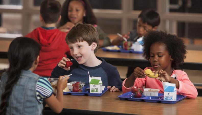 В британской школе ученикам запретили есть фрукты и шоколад