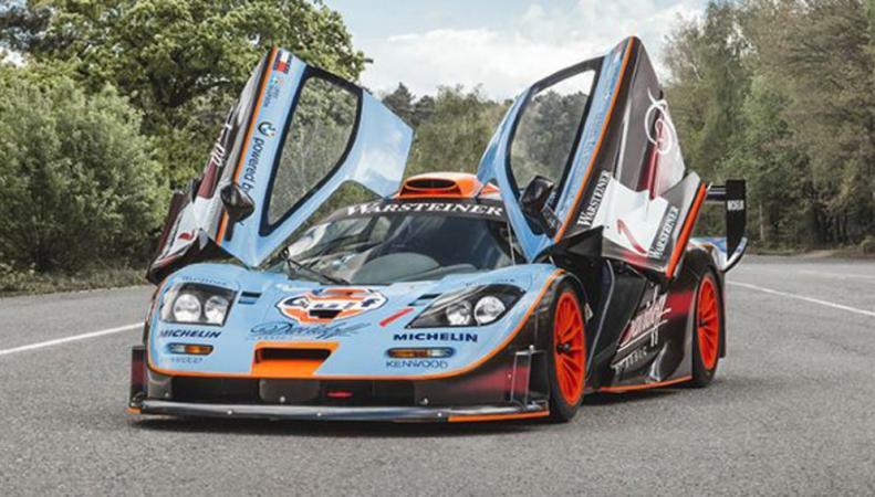 суперкар McLaren F1 Longtail