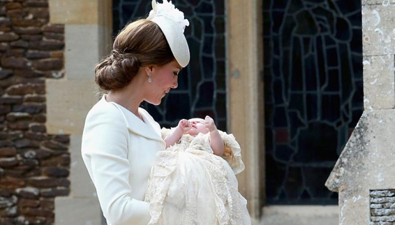 крещение принцессы Шарлотты