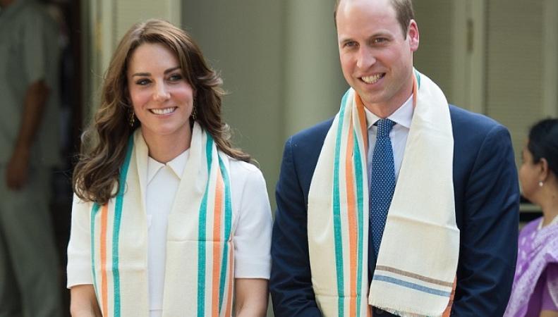 Кейт и Уильям в Индии
