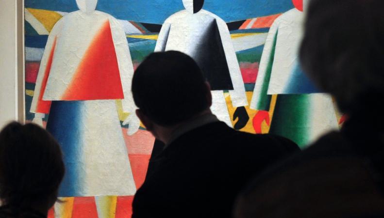 Выставка работ Казимира Малевича