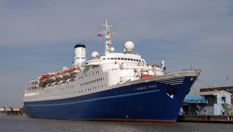 Британский лайнер Marco Polo