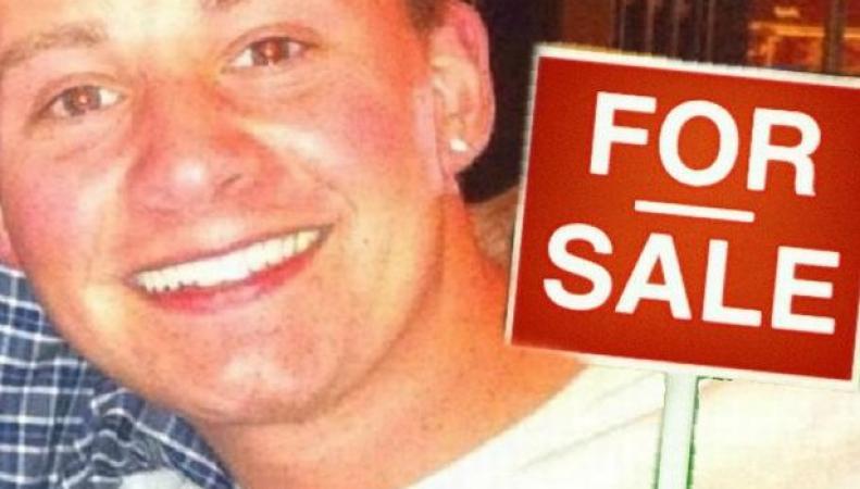 Британец в поисках спутницы жизни выставил себя на продажу