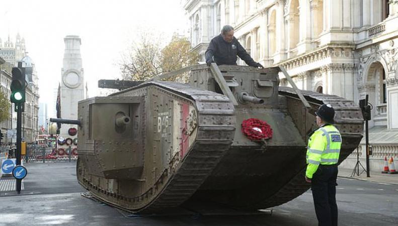 британский танк Mark IV