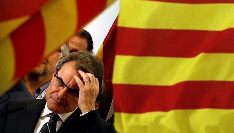 Премьер-министр Каталонии Артур Мас