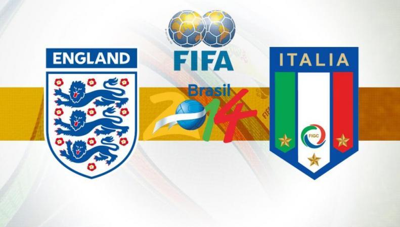 Англия и Италия на ЧМ-2014