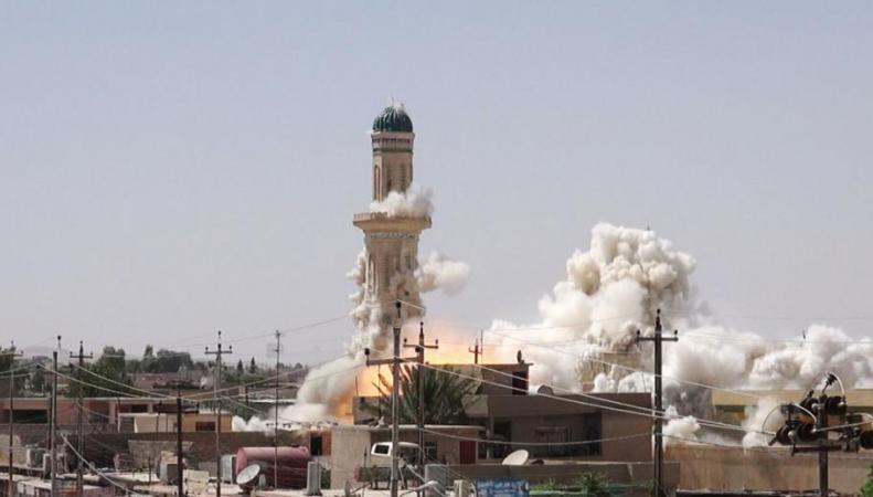 Минобороны: ИГИЛ готовится взрывать мечети, чтобы обвинить Россию